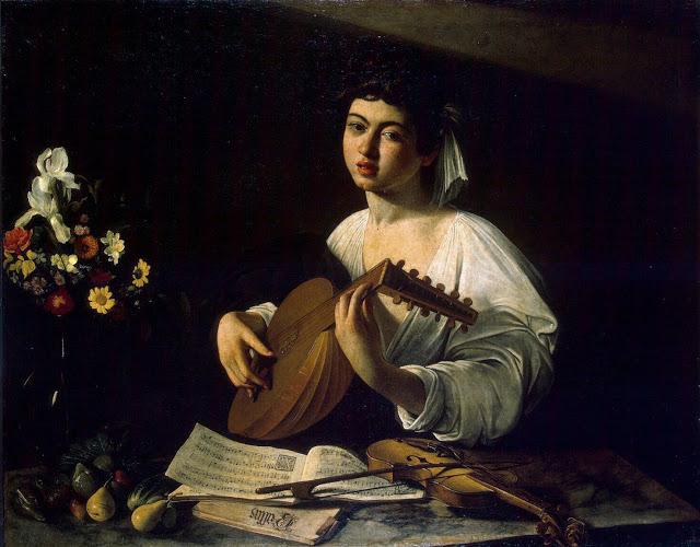 Michelangelo Caravaggio tocador-de-alaude